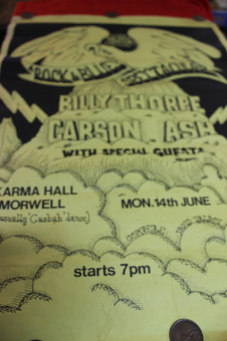 1971 - Billy Thorpe Morwell Concert Poster