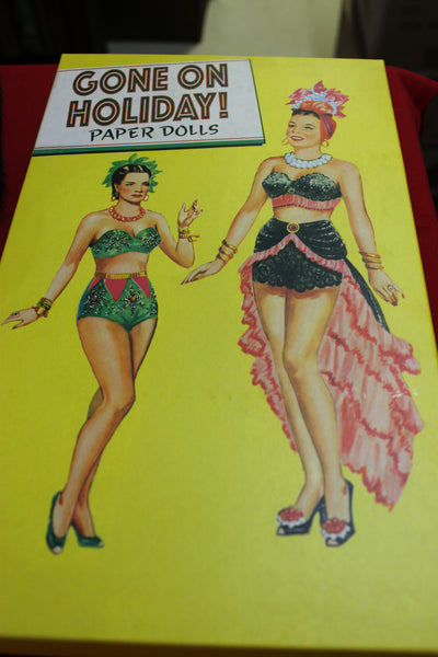Gone on Holiday Paper Dolls