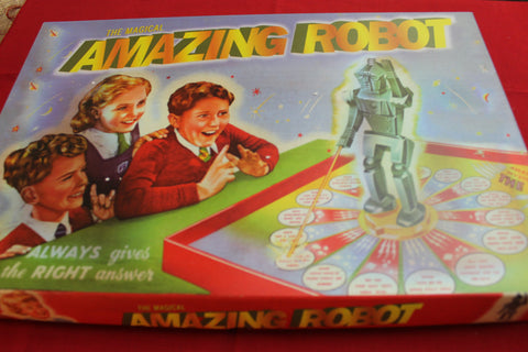 Amazing Robot Board Game