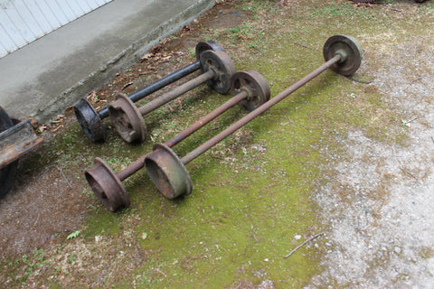 Lots of Mining Skip Wheels in Stock