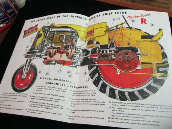 Visionlined R Tractors Catalogue