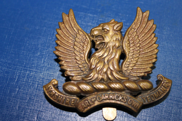 Ayrshire Yeomanry Cap Badge