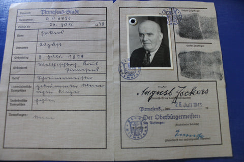 WW2 - German Identity Document