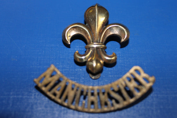 Manchester Regiment Cap Badge and Title