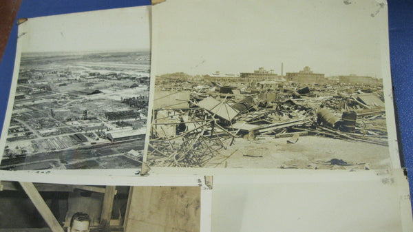 Original Photos of Bombed Japanese Air Base 1946.