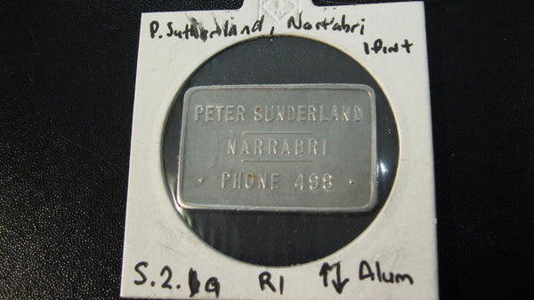 Sunderland - Narrabri Milk Token