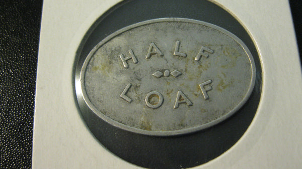 Newcastle Co-Op Half Loaf Token.
