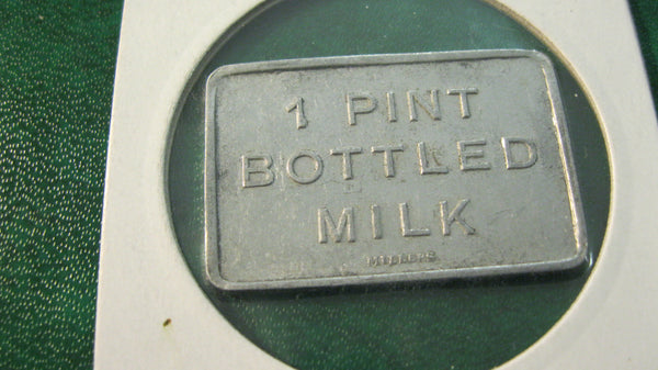 Newcastle Co-Op One Pint Milk Token.