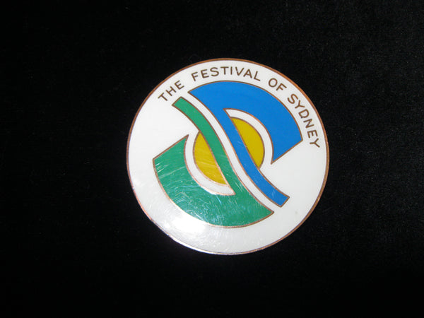 Sydney Festival Yachting Prize Medal