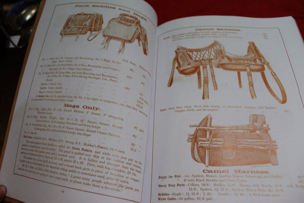 Holden & Frost Harness , Saddlery Catalogue
