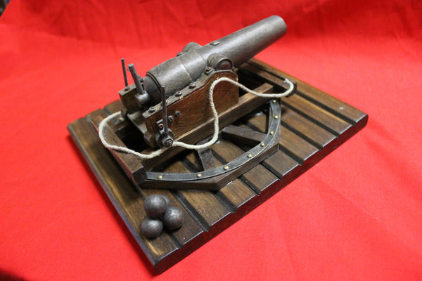 Model Civil War Parpot Gun