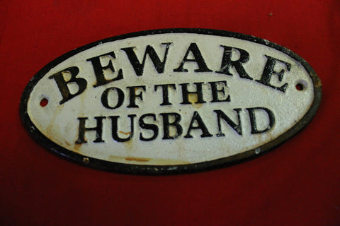 Rustic Husband Sign