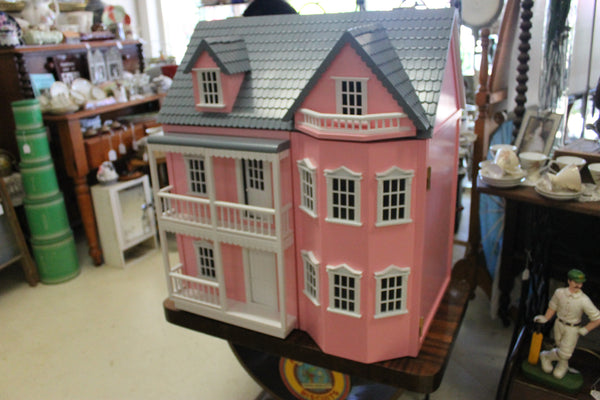 Large Wooden Doll's House