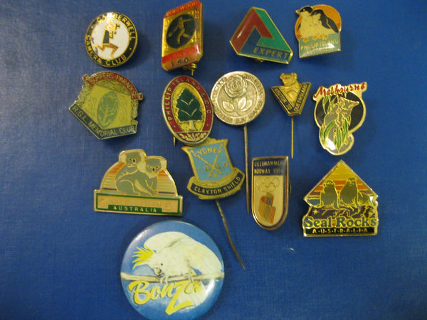 Small Lot of Assorted Badges