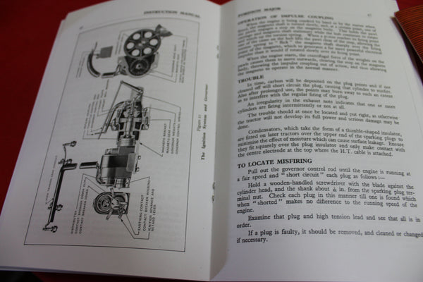 Fordson Major Tractor Manual in Two Parts