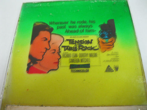 "1956 - "" Tension at Table Rock "" Movie Glass Slide"