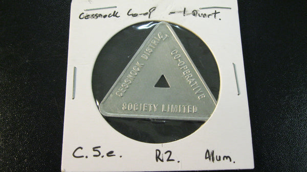 Cessnock Co-Op Milk Token .