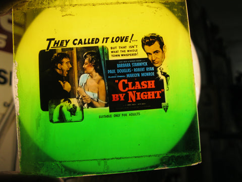 1952 - Clash By Night Glass Movie Slide