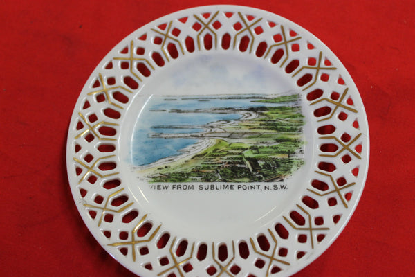 Sublime Point NSW Souvenir Ware Plate