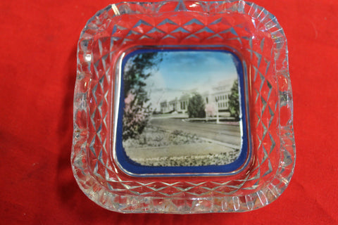 Parliament House Glass Dish