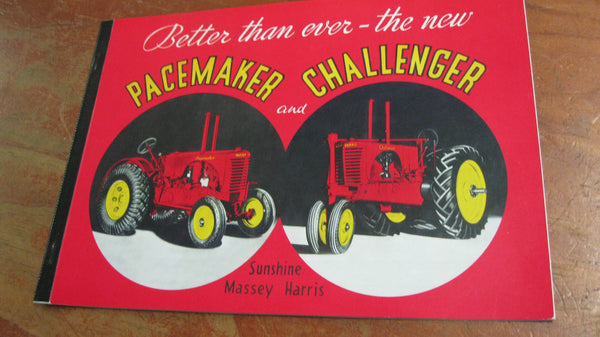 Pacemaker And Challenger Tractor Catalogue .