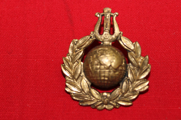 Royal Marines Musician's Cap Badge