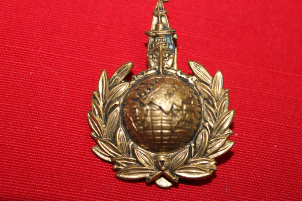 Royal Marines Labour Corps Cap Badge
