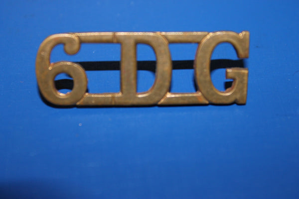 6th Dragoon Guards Shoulder Title