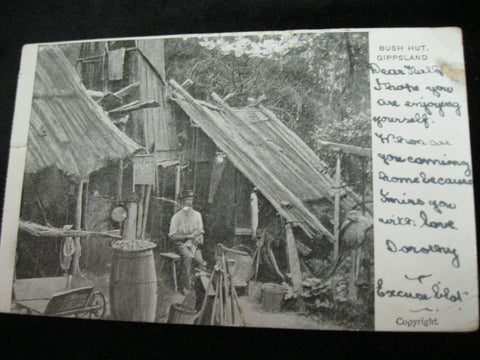 Gippsland Bush Hut Postcard