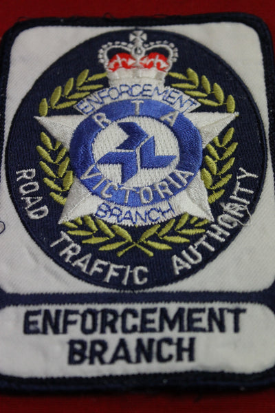 Obsolete RTA Enforcement Branch Patch