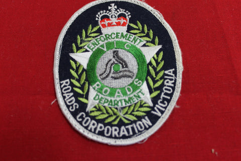 Obsolete Vic Roads Enforcement Department Patch
