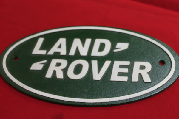 Land Rover Wall Plaque