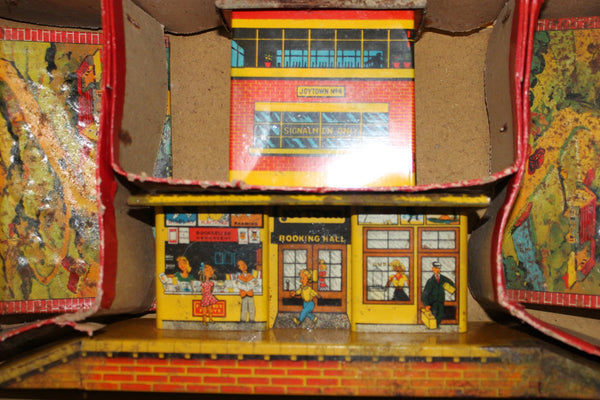 1950's Mettoy Passenger Rail Train Set A/F
