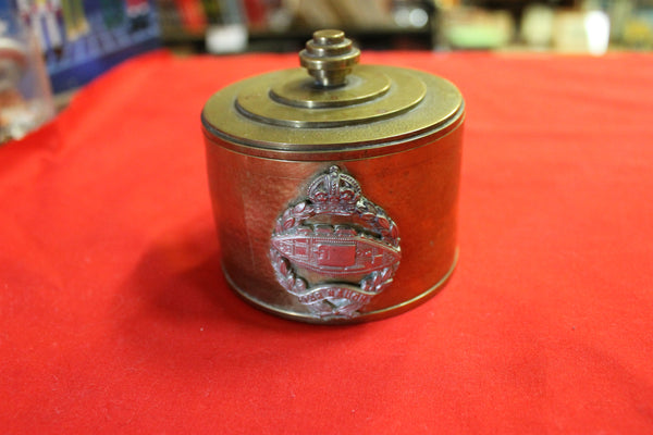 Trench Art Trinket Box