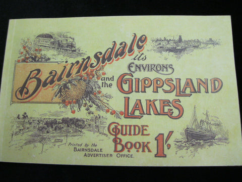 Bairnsdale it's Environs and the Gippsland Lakes Booklet