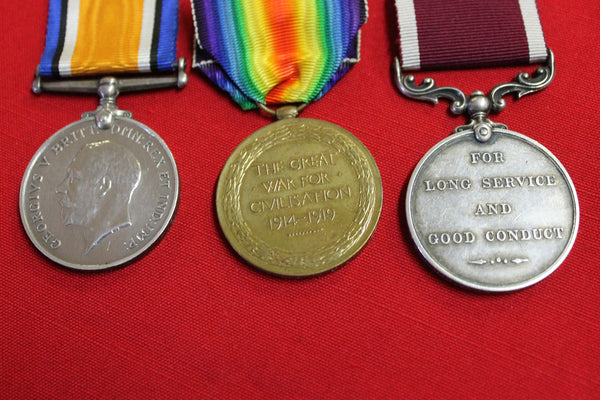 WW1 - Royal Engineers Medal Group
