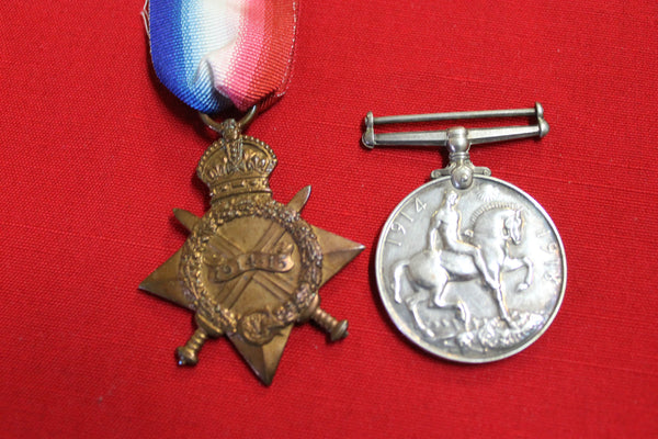WW1 - Royal Navy Medal Pair