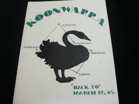 Koonwarra Back To 1965
