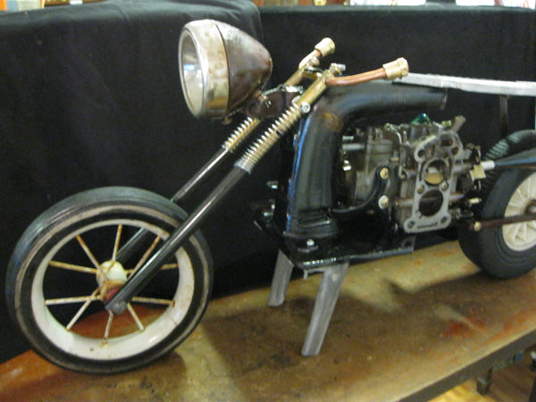 Recycled Art Motorcycle