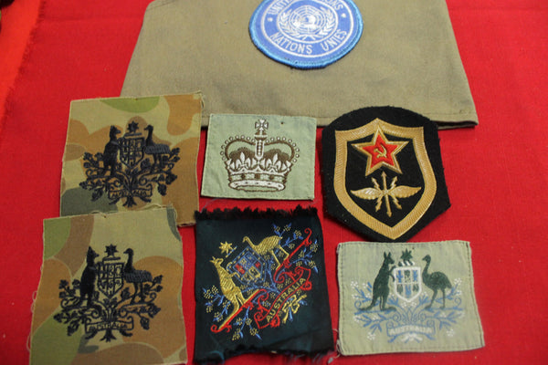 Assorted Military Patches