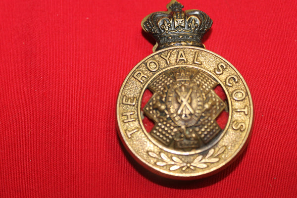 The Royal Scots Helmet Plate