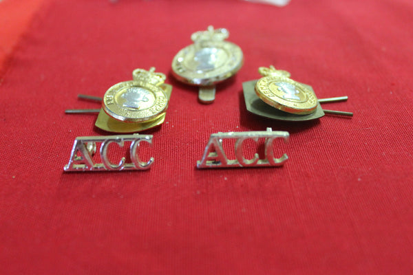 Army Catering Corps Badge Set