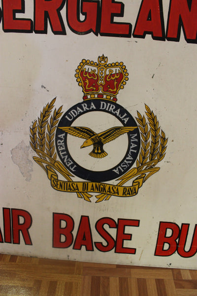 Obsolete Air Base Sign