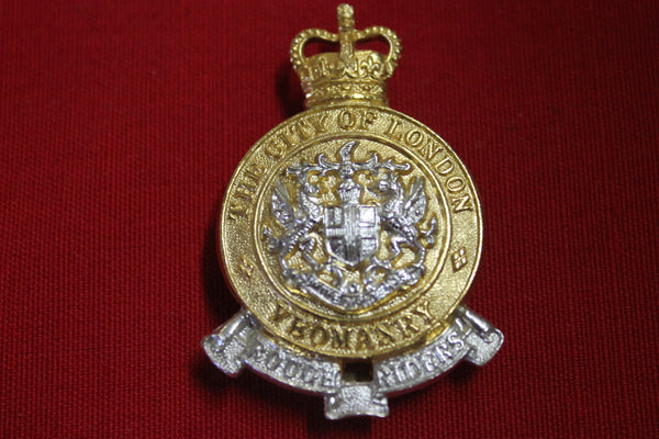 The City of London Yeomanry Cap Badge