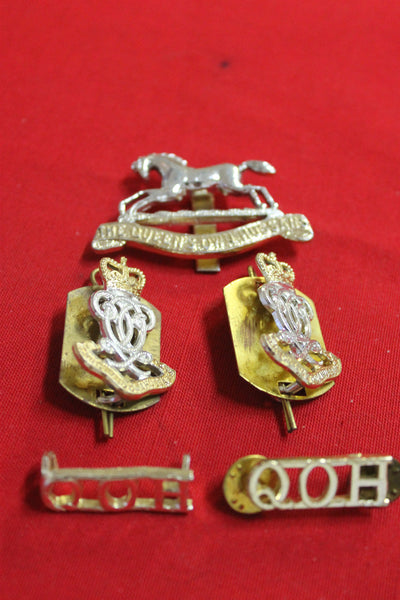 The Queen's Own Horse Badge Set