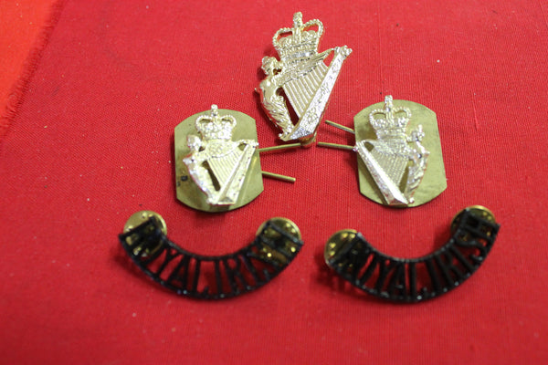 Royal Irish Regiment Badge Set