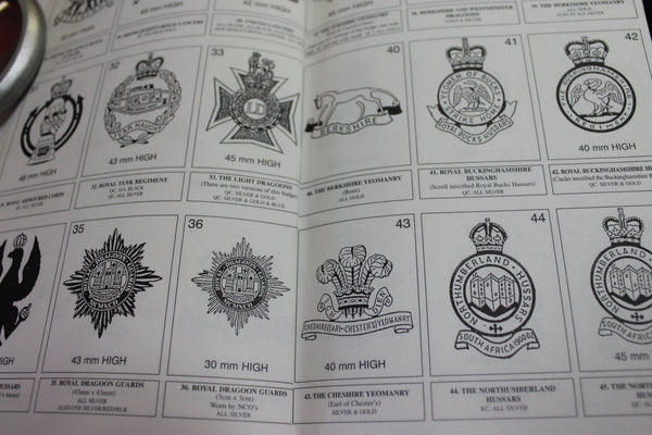 Collecting Anodised Cap Badges by Peter Taylor