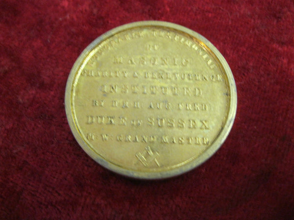 1830 - Masonic Charity Medallion