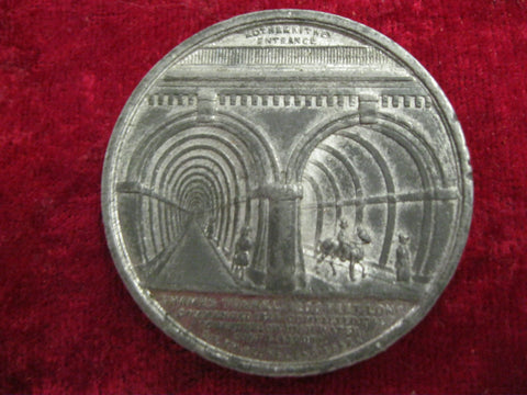 1843 - Brunnel Thames Tunnel Medallion