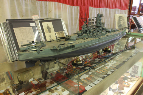 Large Model USS Missouri